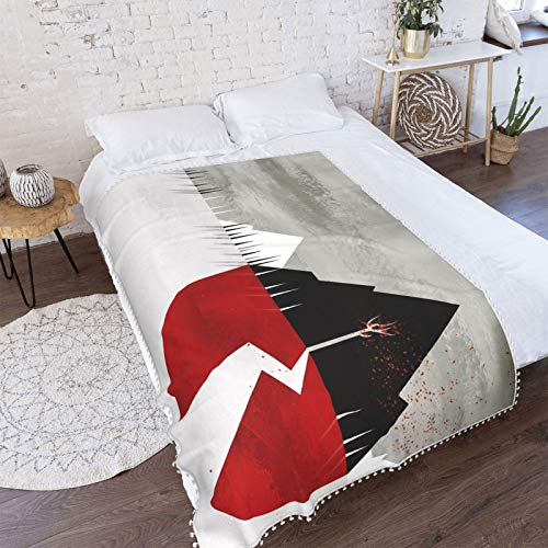 KErabbitsweat Sleeping with Sirens Throw Blanket Soft Microfiber Warm and Cozy Micro Fleece Flannel Blankets for Sofa Couch Bed Chair Air Conditioning Blanket 40'X30' Inch