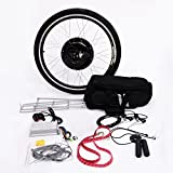 Aosom 26' Rear Wheel 48V 1000W Electric Battery Powered Bicycle Motor Conversion Kit