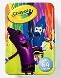 Crayola Tin Crayon Box, Holds 64 Crayons, 6' X 4' X 2'