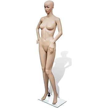 Yaheetech Maniqu/í Femenino Figura Mujer Altura 175cm Maniqu/í Completo