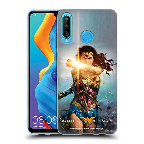Official Wonder Woman Movie Bracelets of Submission Posters Soft Gel Case Compatible for Huawei P30 Lite/Nova 4e