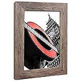 Bilderrahmen Fotorahmen 40x40 cm Apfel bilderrahmen zum aufhängen MDF Picture Frames Farbe und 40 Verschiedene Größen wählbar ohne Passepartout Rahmen London