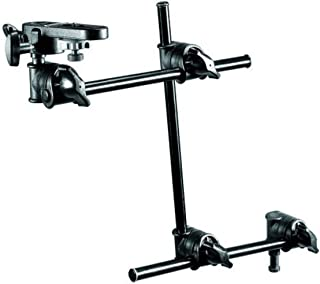 Manfrotto 196B-3 143BKT 3-Section Single Articulated Arm with Camera Bracket (Black)
