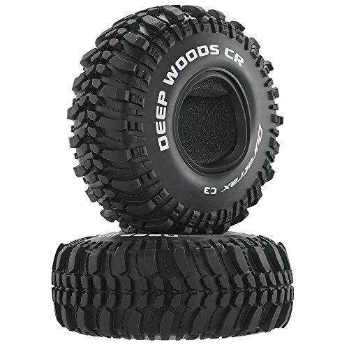 "Duratrax Deep Woods CR 1.9"" Crawler Tires C3 (2), DTXC4017"