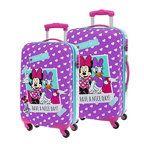 Disney Minnie Daisy Nice Day Bagage, 55 cm, 37,4 L, Rose