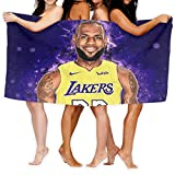 DFTCDR Lebron-James Bath Towels Beach Towel-Quick Fast Dry Super Absorbent Oversized Large Towels Blanket for Travel Pool Swimming Bath Camping Yoga Girls Women Men Adults (31' x 51')