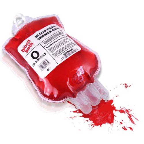 Blutbad Bluttransfusion Duschgel