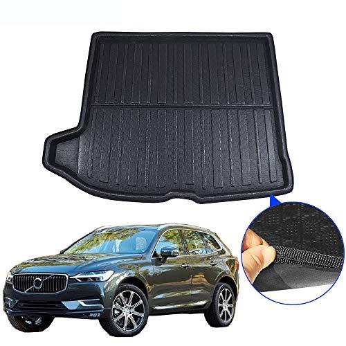 Car,For Volvo XC60 2018 2019 Car Accessories Trunk Mat Rear Tray Boot Liner Floor Cargo Mud Carpet Kick Pad