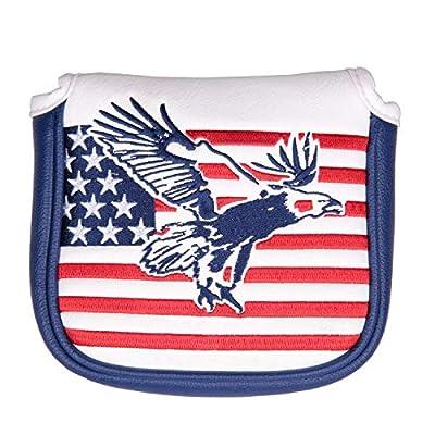 USA Eagle Square Magnet