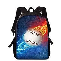子供のバックパック野球3D印刷小学校のバッグ男の子と女の子のランドセルに適した防水ブックバッグ