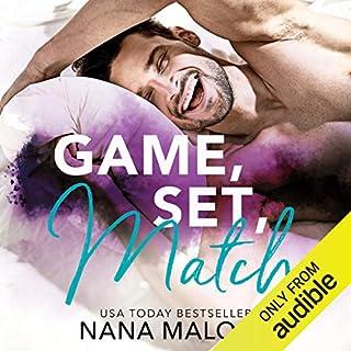 Game, Set, Match audiobook cover art