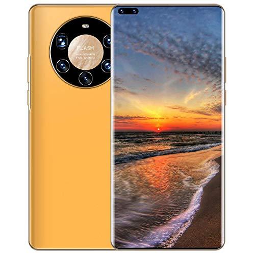 Lenove Mate40 Pro+ Moviles Libres Baratos 4G- Smartphone de 7.3' Memoria 512GB ROM + 12 RAM- Cámara Trasera 50MP y Frontal (Selfie) 24MP- 4G Dual SIM Android 10 GO Smartphone