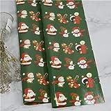 10 Stück Weihnachtsverpackungspapier Grüne Dekoration Bastelpapier Geschenkverpackung Dekorative...