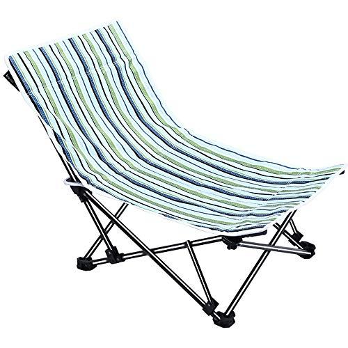 Axdwfd Chaise longue Inclinable chaise, chaise pliante portable ménage chaise paresseuse bureau déjeuner pause chaise chaise Siesta Lounge Chair Camping Beach Lounge Chair 51 * 51 * 60 cm