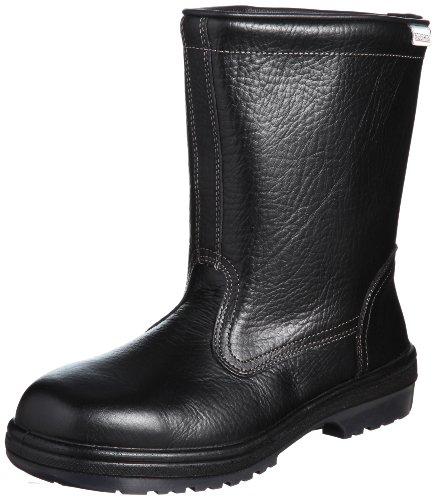 [ミドリ安全] 安全靴 JIS規格 ブーツタイプ 半長靴 ラバーテック RT940 メンズ ブラック JP 24.0(24cm)