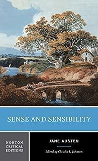 Sense and Sensibility (Norton Critical Editions) by Jane Austen (2001-10-30)