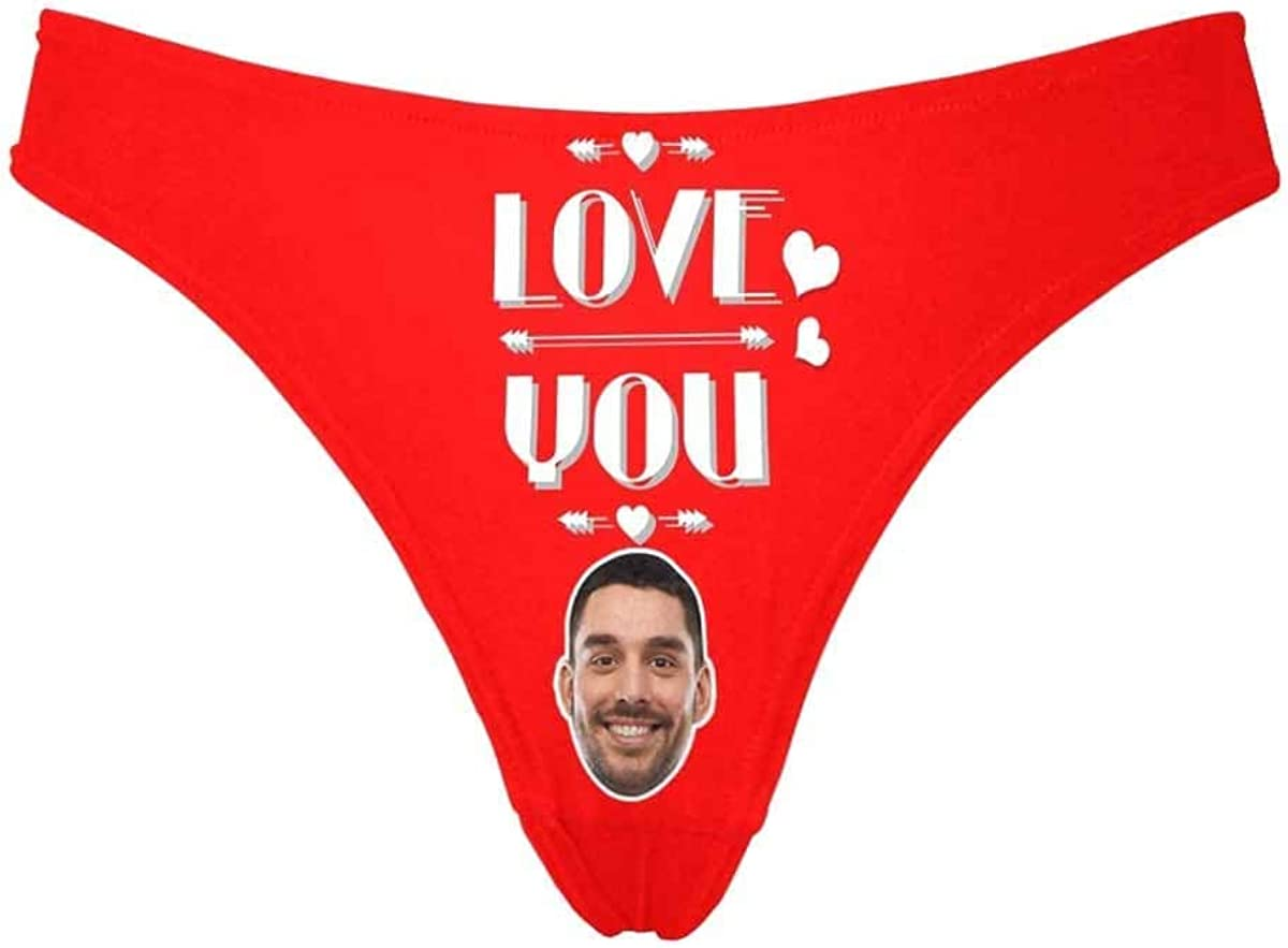 Custom Face Women's Classic Thong Printed with Don't Funny 40% OFF Cheap Sale Max 58% OFF Touch