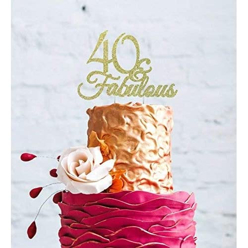 Outstanding 40Th Birthday Cake Amazon Co Uk Funny Birthday Cards Online Overcheapnameinfo