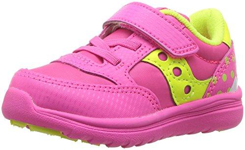 Saucony Baby Jazz Lite Sneaker, Pink Monster, 8 XW US Toddler