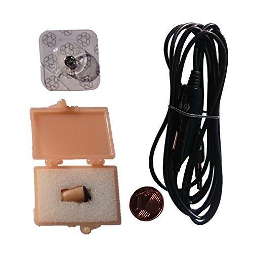 COMBO KIT - Auricular VIP PRO + Collar - indetectable. Ideal para exámenes y espionaje.