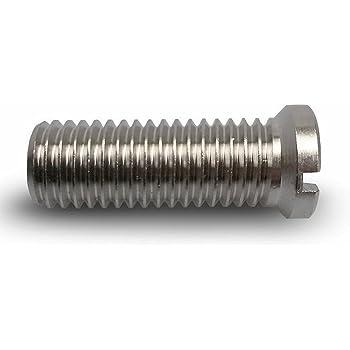 longitud 45/mm para colador cesta v/álvulas M12/x 1,5/mm/ Keen Berk hueca de tornillo apto para 1,5/y 3,5/pulgadas v/álvula de flujo /Universal