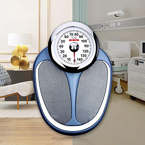 Mechanical scale Bathroom Scale, no Batteries or Buttons Needed, Large dial is Easy to Read, Large Capacity 200kg (440lb), Used in Gymnasium