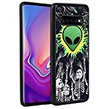 Samsung Galaxy S10+, Samsung Galaxy S10 Plus Case Alien Pattern Soft TPU Protective Shockproof Cover