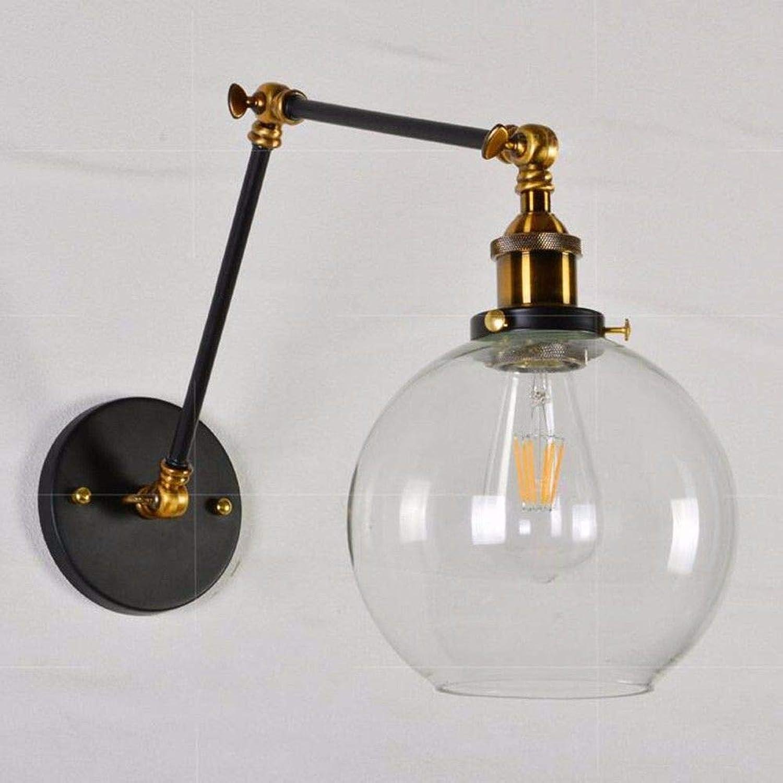 StiefelU LED Wandleuchte nach oben und unten Wandleuchten 2-teiliges Teleskoprohr Wandleuchten antique Rocking langer hebel Restaurant anzupassen, ist Leiter der bed Glas Wandleuchten,