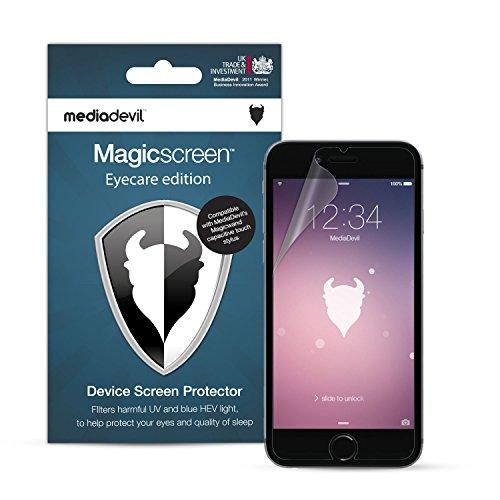 MediaDevil Pellicola Protettiva per iPhone 6 e iPhone 6S - Eyecare Filtro Luce Blu, UV e HEV (2-Pezzi)