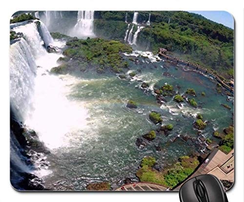 N\A Alfombrillas de ratón, Panorama de Las cascadas de Iguazú, Alfombrilla de ratón de Argentina, Alfombrilla de ratón (Alfombrilla de ratón de cascadas)