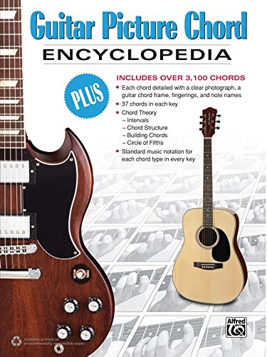 Guitar Picture Chord Encyclopedia: Includes Over 3,100 Chords