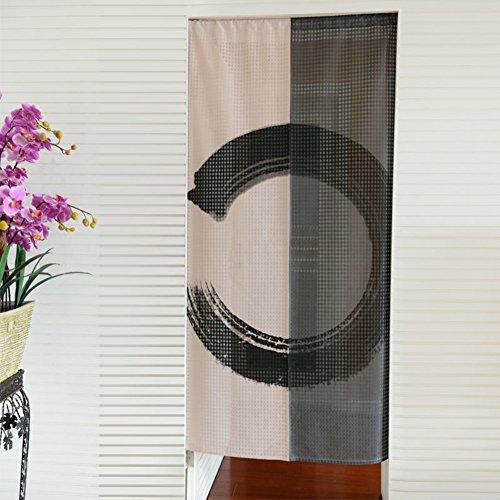 KXedfffSD Rotan Vine, eenvoudig windgordijn/printen, slaapkamer,Feng Shui gordijn/stof gordijn 85x170cm(33x67inch) A