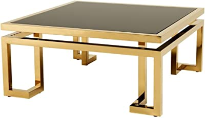 Eichholtz Square Gold Coffee Table Palmer