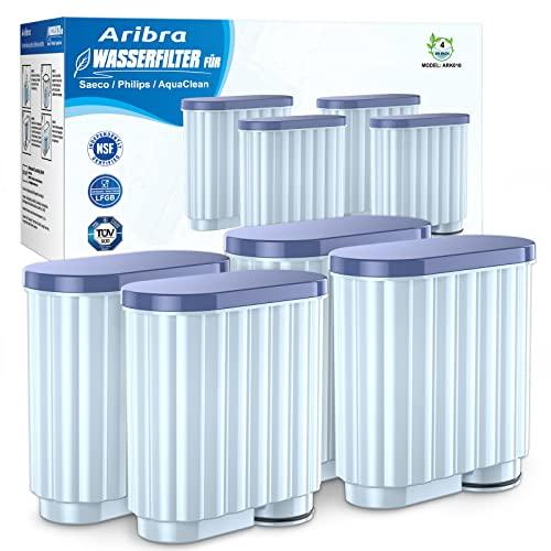 Wasserfilter für Philips Kaffeemaschine, Wasserfilter kompatibel Philips AquaClean CA6903/00, CA6903/22, CA6903/99 Kalkfilter, Filterpatrone gilt für Saeco und Philips Kaffeevollautomaten(4 stück)