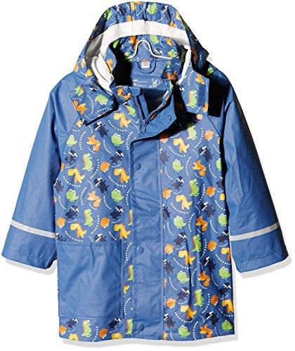 Sterntaler Jungen FLI Soft Fahrzeuge Regenmäntel, Blau (Nachtblau 366), (Size:116)