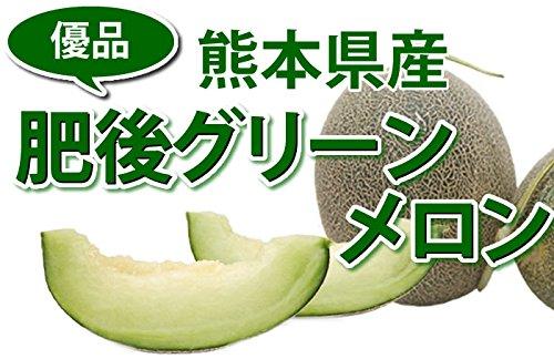 メロン 訳あり ご自宅用 肥後グリーン 熊本県産ブランドメロン 1玉 約1.6?2kg