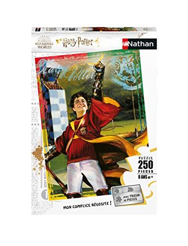 Nathan 40055568803 - Puzle de la pasión de Quidditch/Harry Potter (250 Piezas), diseño de niño