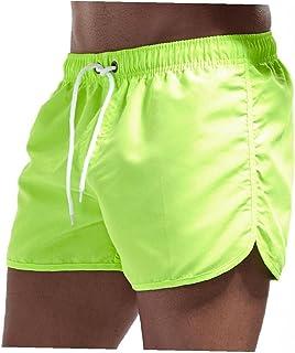 Yililay Men Swimwear Swim Shorts Trunks Beach Board Shorts Swimming Pants Swimsuits Men Running Sports Surffing shorts 2XL