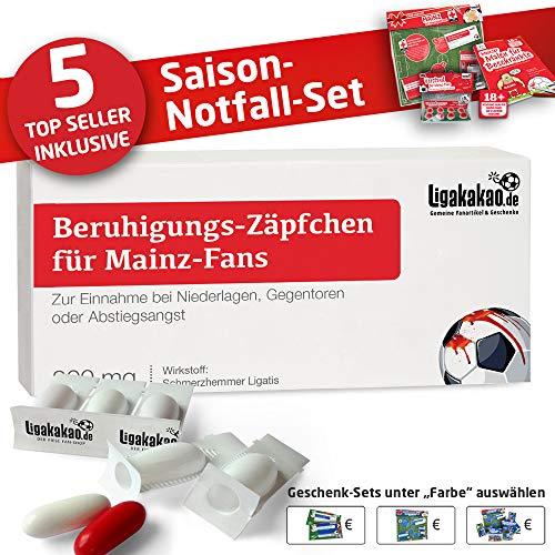 Kaffee-Becher ist jetzt das GROßE Saison Notfall Set für Mainz 05-Fans by Ligakakao.de