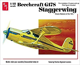 AMT Beechcraft G17S Staggerwing 1:48 Scale Model Airplane Kit 886