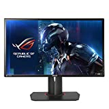 ASUS ROG Swift PG348Q - Monitor gaming curvo de 34' (resolución UWQHD 3440x1440, 100 Hz, WLED, IPS, 21:9, brillo 300 cd/m2, contraste 1.000:1, respuesta 5 ms GTG, G-SYNC, 2 altavoces estéreo 2W RMS)