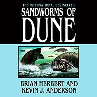 Page de couverture de Sandworms of Dune