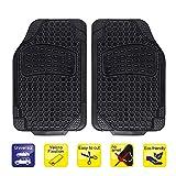 alca® Auto Fußmatte Universal zuschneidbar Gummimatte Fahrer-/Beifahrerseite