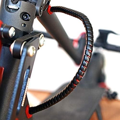 myBESTscooter - Câble de protection en spirale pour trottinette électrique Xiaomi M365 1S Essential Pro