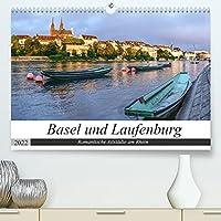 Basel und Laufenburg - Romantische Altstaedte am Rhein (Premium, hochwertiger DIN A2 Wandkalender 2022, Kunstdruck in Hochglanz): Stadtansichten von Basel und Laufenburg (Monatskalender, 14 Seiten )