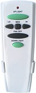 Ceiling Fan Remote Control Replace for Hampton Bay UC7078T 3 Speed with UP/DOWN Light 1 Year Warranty