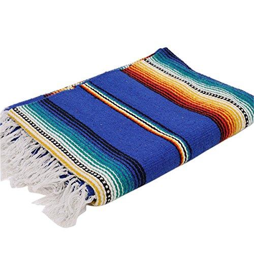 エルパソサドルブランケット (El Paso SADDLEBLANKET) Rio Bravo[Vibrant Stripe]Blanket/リオブラボーブランケット[約188×142cm]ROYAL.BLUE