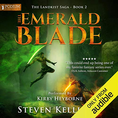 The Emerald Blade audiobook cover art