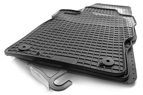 kh Teile Corsa E Gummimatten Original Qualität Gummi Fußmatten 4-teilig schwarz