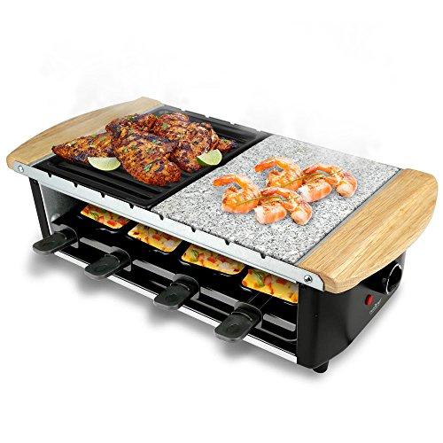 Ensemble à Raclette NutriChef / Gril pour 8 personnes - 0